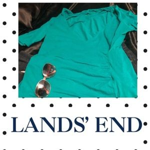 🔥HOT SALE🔥 Lands End quarter top- Size 14W